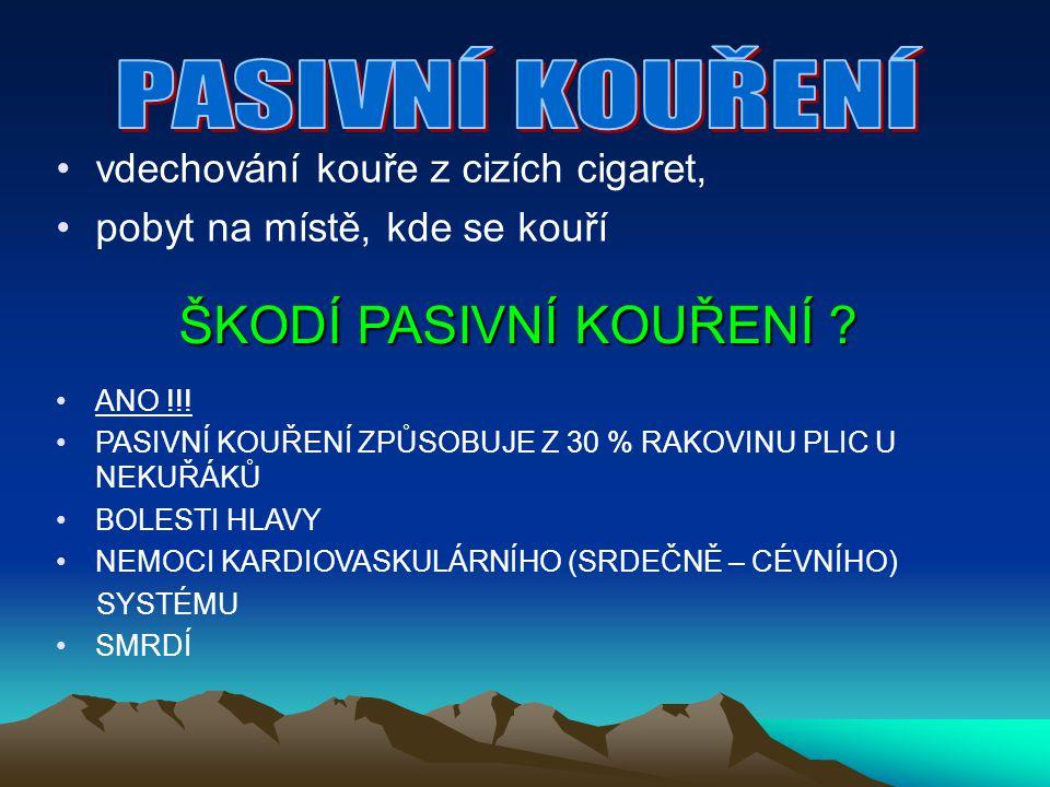 DŮSLEDKY KOUŘENÍ - denně na následky kouření zemře asi 60 lidí - ročně ZEMŘE asi 22 000 LIDÍ na následky kouření, což je asi 20% z celkové úmrtnosti Plíce nekuřáka a kuřáka Srdce nekuřáka a kuřáka