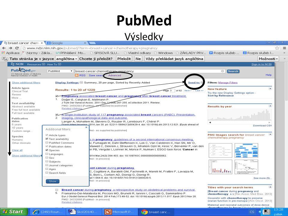 PubMed Výsledky
