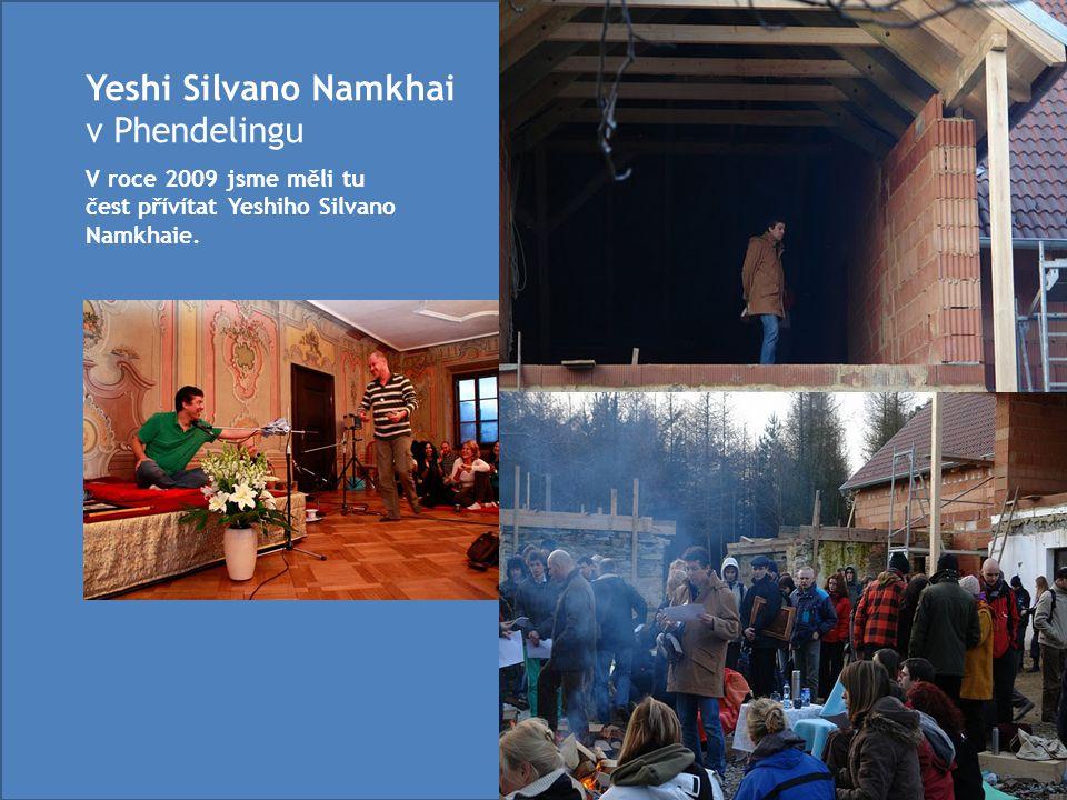 Yeshi Silvano Namkhai v Phendelingu V roce 2009 jsme měli tu čest přívítat Yeshiho Silvano Namkhaie.