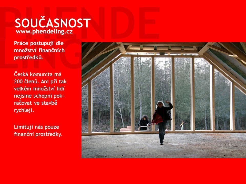 Začátek stavby 2008 V roce 2008 jsme zrealizovali: nákup pozemku, nákup budovy, zadání a vypracování architektonického návrhu STAVÍME PHENDELING