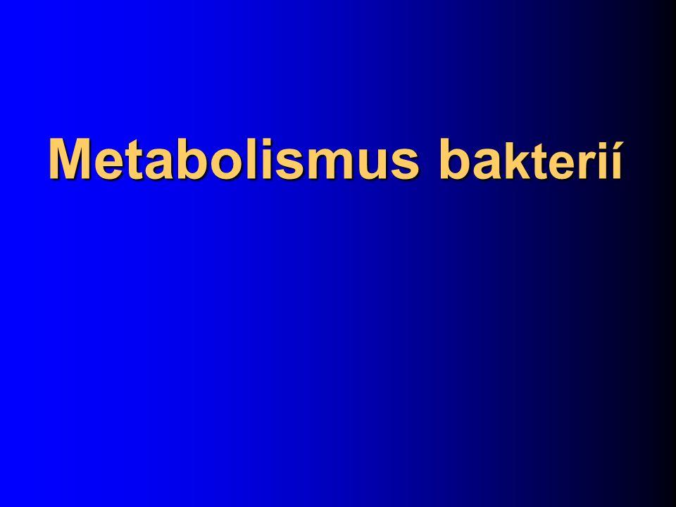 Metabolismus ba kterií