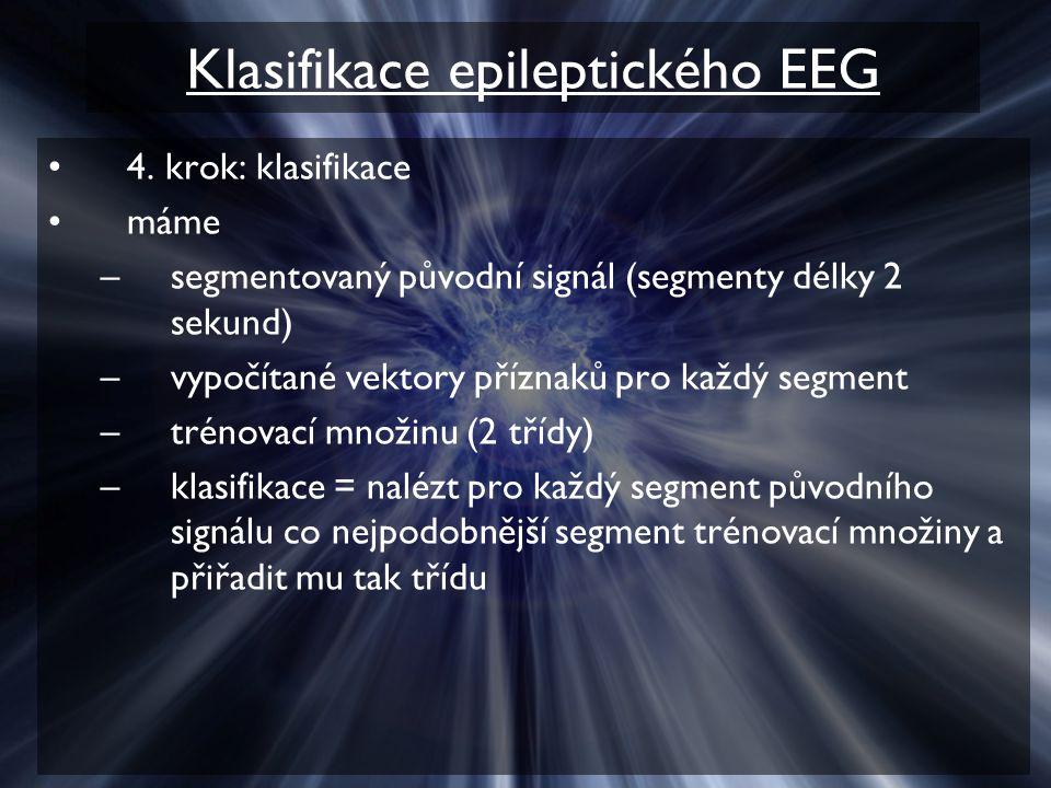 Klasifikace epileptického EEG 4.