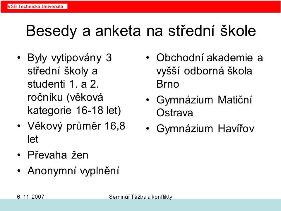 Seminář Těžba a konflikty6.11.