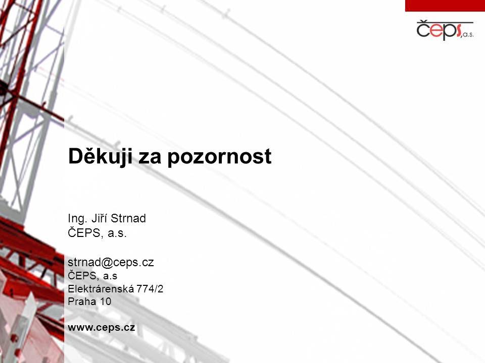 Děkuji za pozornost Ing. Jiří Strnad ČEPS, a.s. strnad@ceps.cz ČEPS, a.s Elektrárenská 774/2 Praha 10 www.ceps.cz