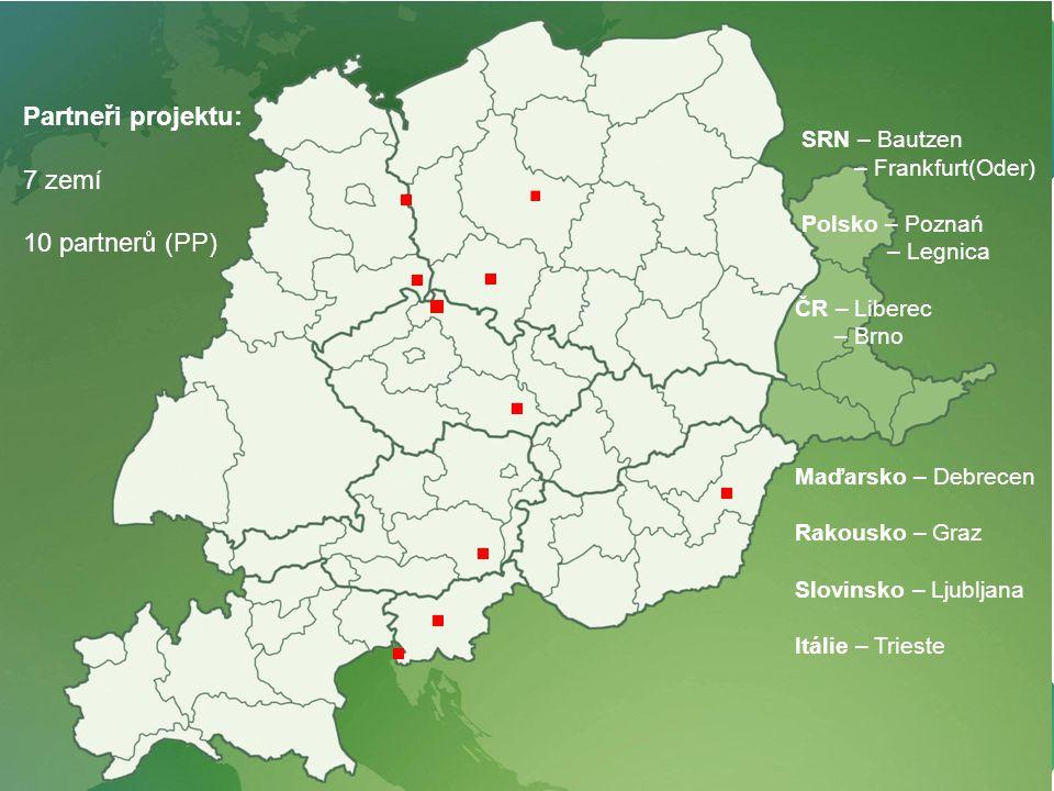 PROINCOR - vaše cesta k inovacím - your way to innovation (Spolufinancováno z operačního programu Nadnárodní spolupráce – Střední Evropa) 2 Seznam 500 firem z regionu – zájem u 50 firem, audit u 40 firem 10 partnerů ze 7 zemí (ČR, Německo, Polsko, Rakousko, Maďarsko, Slovinsko, Itálie) 5 000 firem z regionu střední Evropy – zájem u 500 firem, audit u 400 firem Do auditů zapojeno 800 manažerů firem, 1 200 zaměstnanců Iniciace inovačních projektů ve 20 % firem s auditem (8 na partnera, celkem 80) Případové studie úspěšných auditů a iniciovaných projektů (celkem 20) SRN – Bautzen – Frankfurt(Oder) Polsko – Poznań – Legnica ČR – Liberec – Brno Maďarsko – Debrecen Rakousko – Graz Slovinsko – Ljubljana Itálie – Trieste Partneři projektu: 7 zemí 10 partnerů (PP)