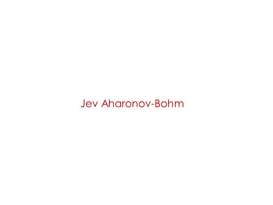 Jev Aharonov-Bohm
