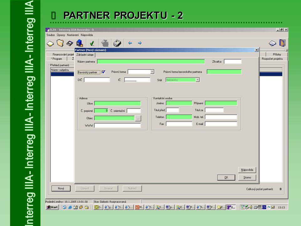  PARTNER PROJEKTU - 2