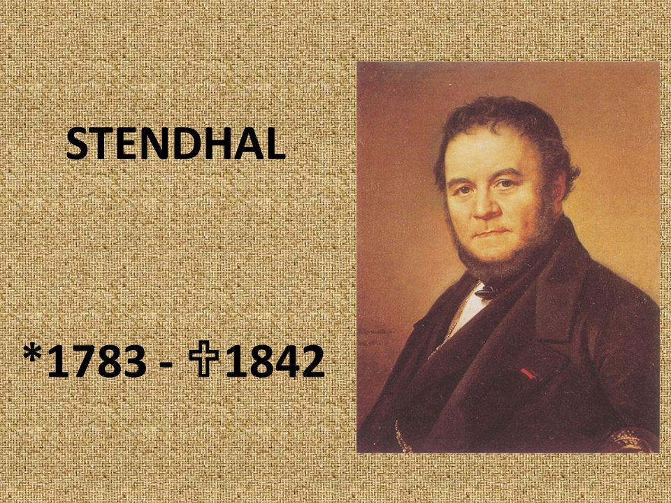 STENDHAL *1783 -  1842