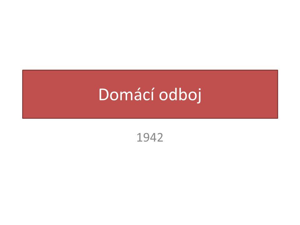 Domácí odboj 1942