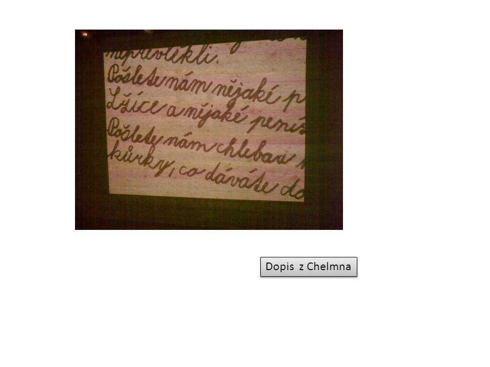 Dopis z Chelmna