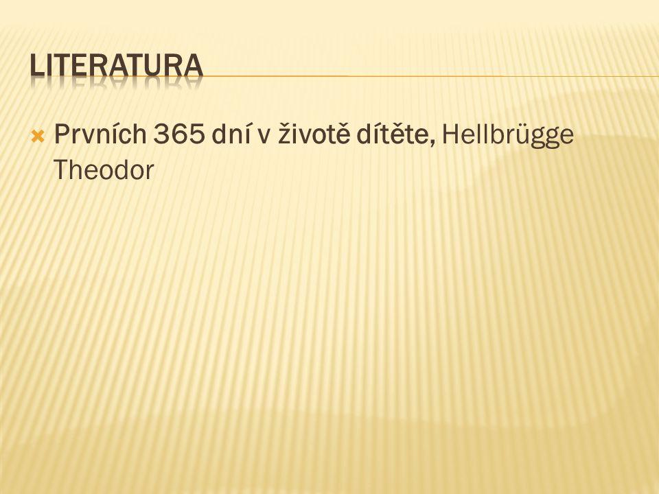  Prvních 365 dní v životě dítěte, Hellbrügge Theodor