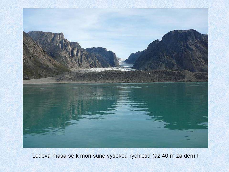 Hlavní přírodní zajímavostí ostrova je Sermeq Kujalleq, nejproduktivnější ledovec severní polokoule a zároveň největší ledovec, který ústí do moře. Le