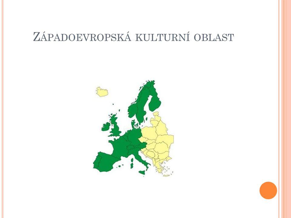 Z ÁPADOEVROPSKÁ KULTURNÍ OBLAST