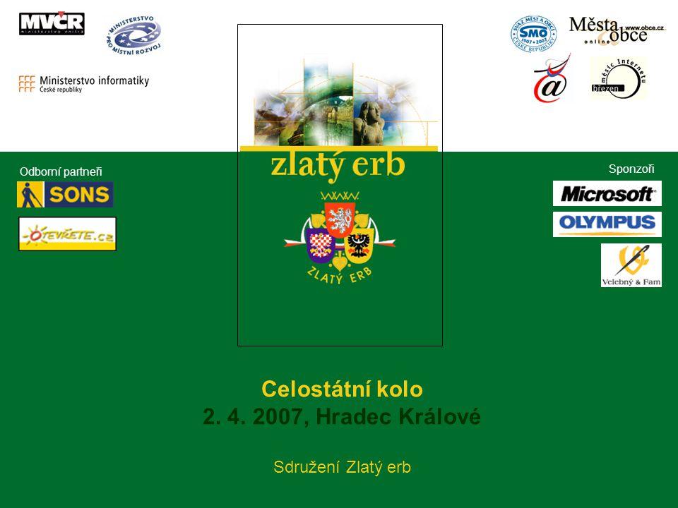 Celostátní kolo Zlatý erb 2007 Celostátní kolo 2. 4.