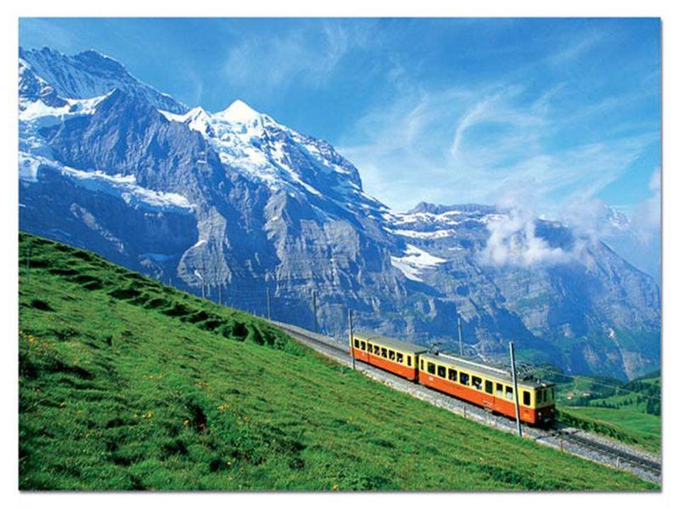 """Švýcarsko – """"Glacier Expres"""