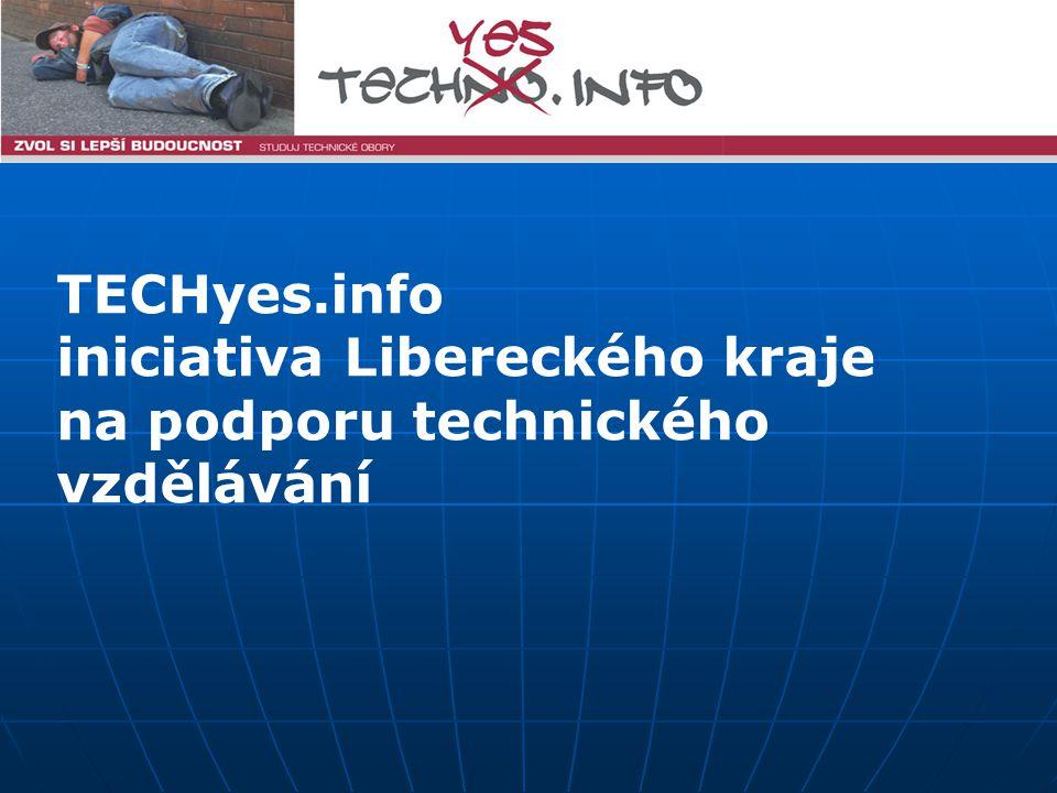 TECHyes.info iniciativa Libereckého kraje na podporu technického vzdělávání