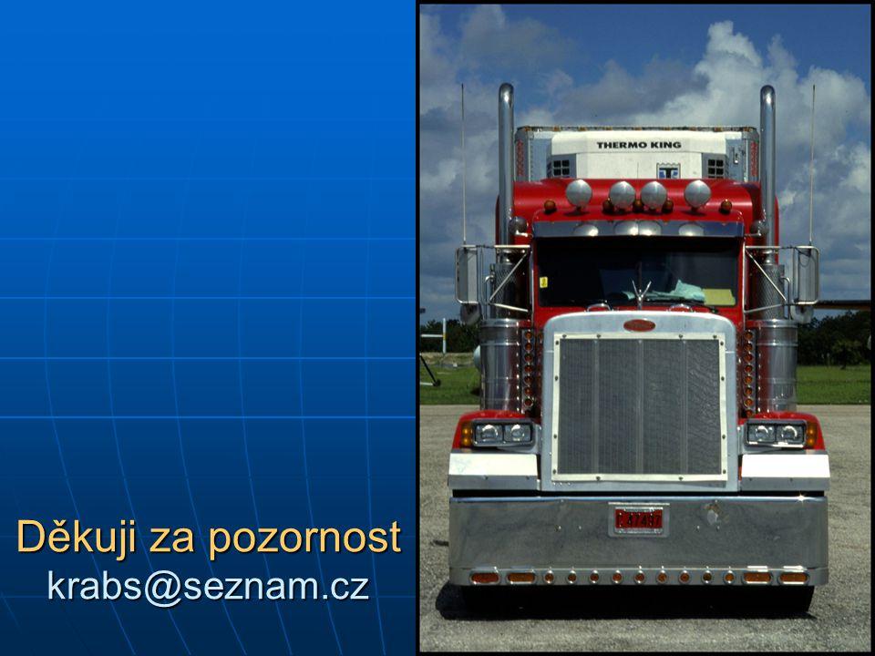 Děkuji za pozornost krabs@seznam.cz