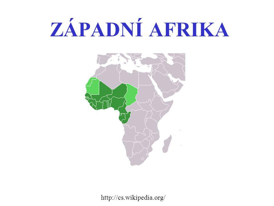ZÁPADNÍ AFRIKA http://cs.wikipedia.org/