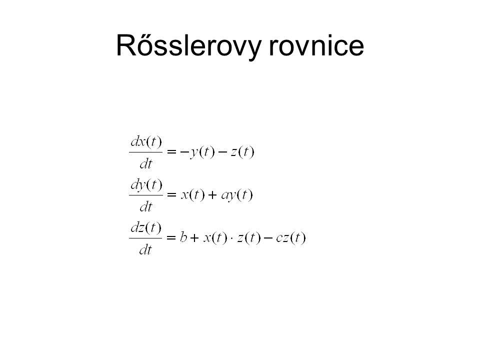 Rősslerovy rovnice