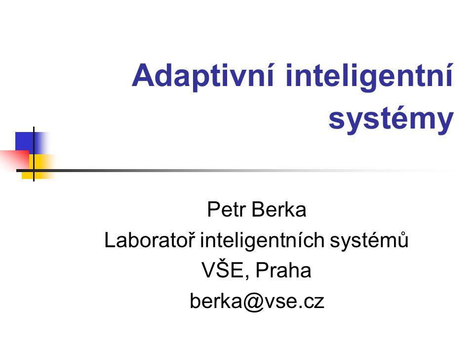 Znalosti 2003, Petr Berka2 Osnova historické ohlédnutí strojové učení, soft computing a adaptivita adaptivita v metodách strojového učení inkrementální učení integrace znalostí meta učení revize znalostí učení a zapomínání využití analogií
