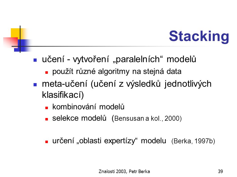 Znalosti 2003, Petr Berka40