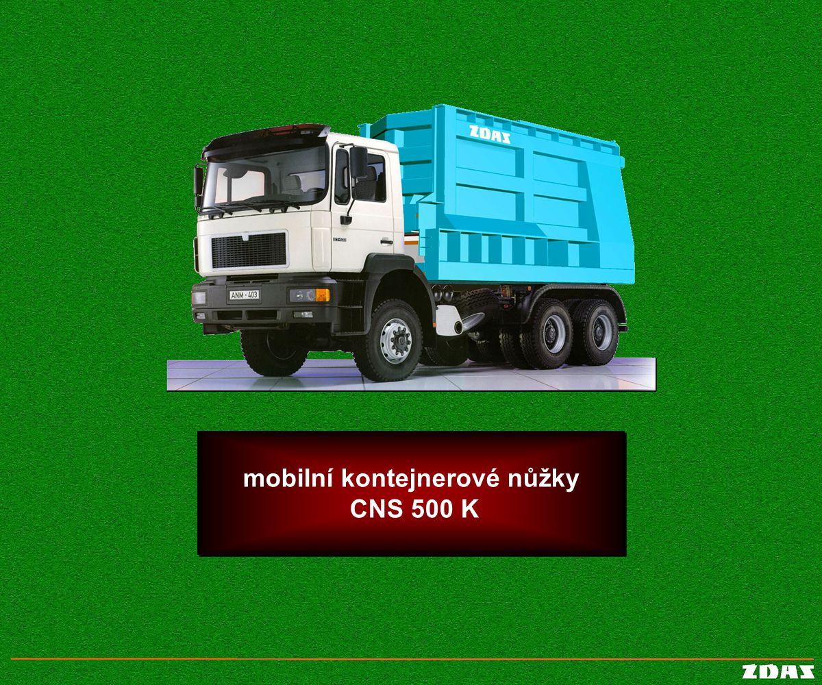 mobilní kontejnerové nůžky CNS 500 K mobilní kontejnerové nůžky CNS 500 K