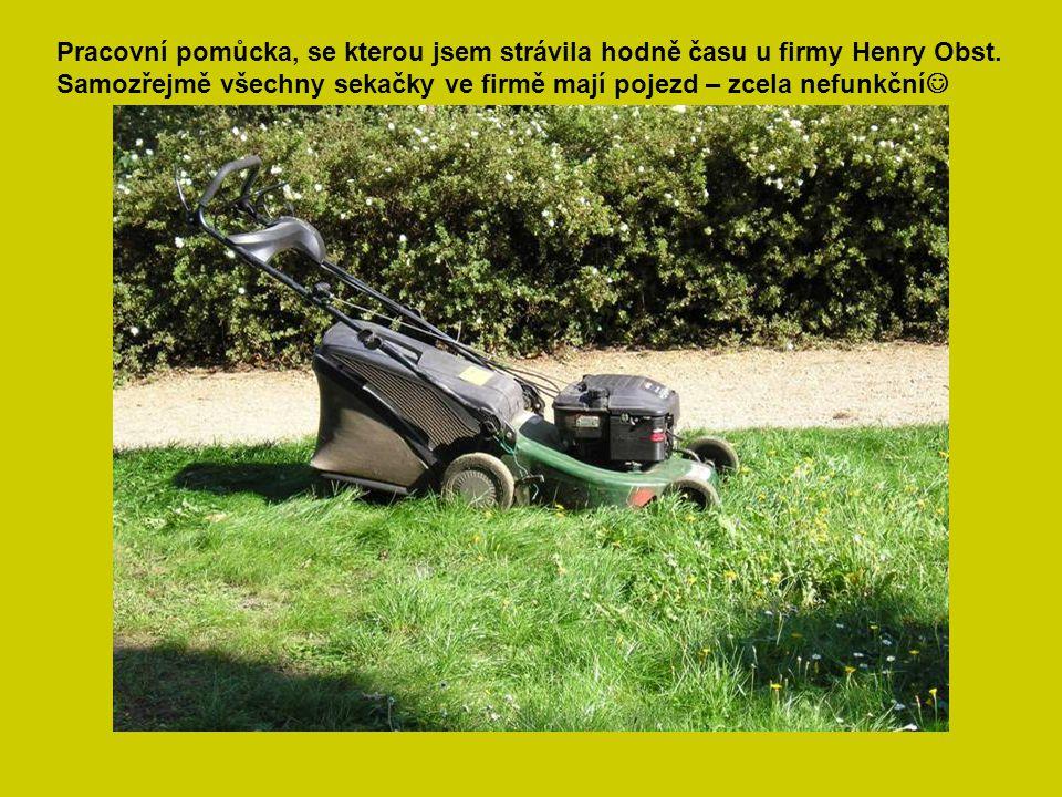 Pracovní pomůcka, se kterou jsem strávila hodně času u firmy Henry Obst.