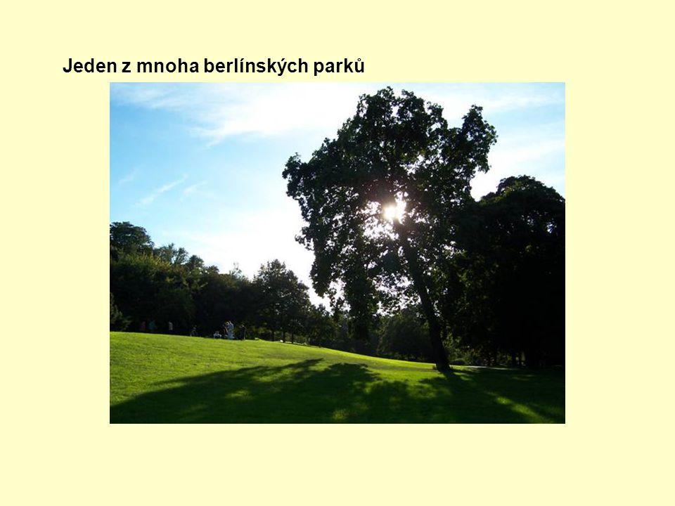Jeden z mnoha berlínských parků