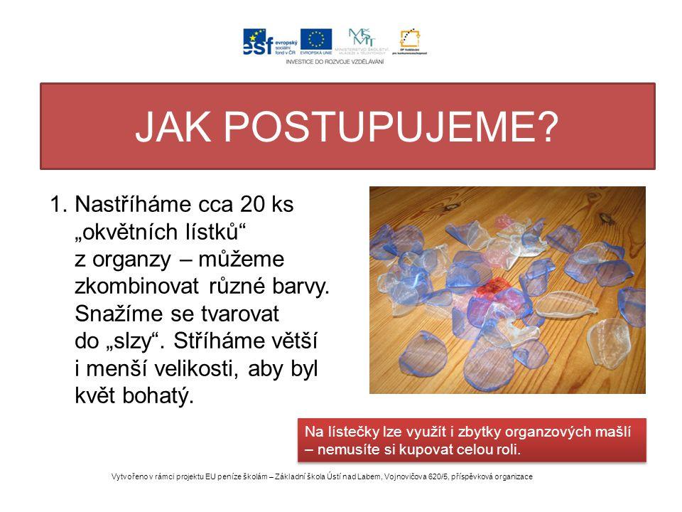 DALŠÍ KROKY OBRAZEM Vytvořeno v rámci projektu EU peníze školám – Základní škola Ústí nad Labem, Vojnovičova 620/5, příspěvková organizace 2.