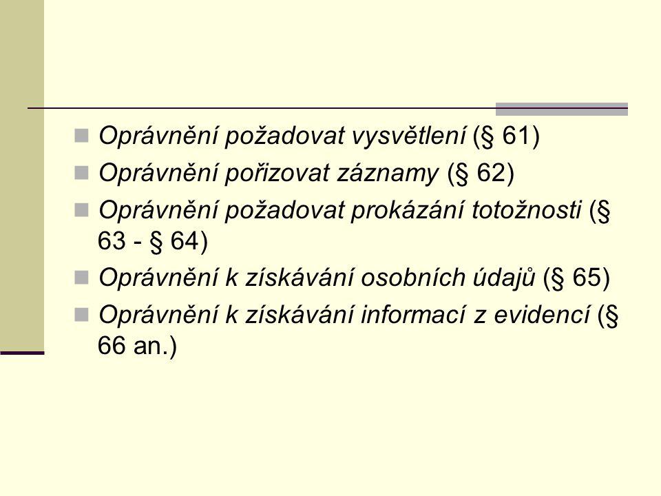 Služební poměr policistů Zákon č.