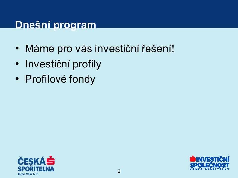 3 Co hledají racionální investoři.