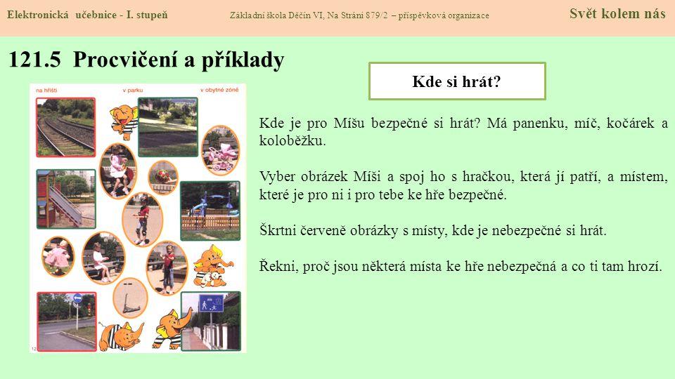 121.5 Procvičení a příklady Elektronická učebnice - I.