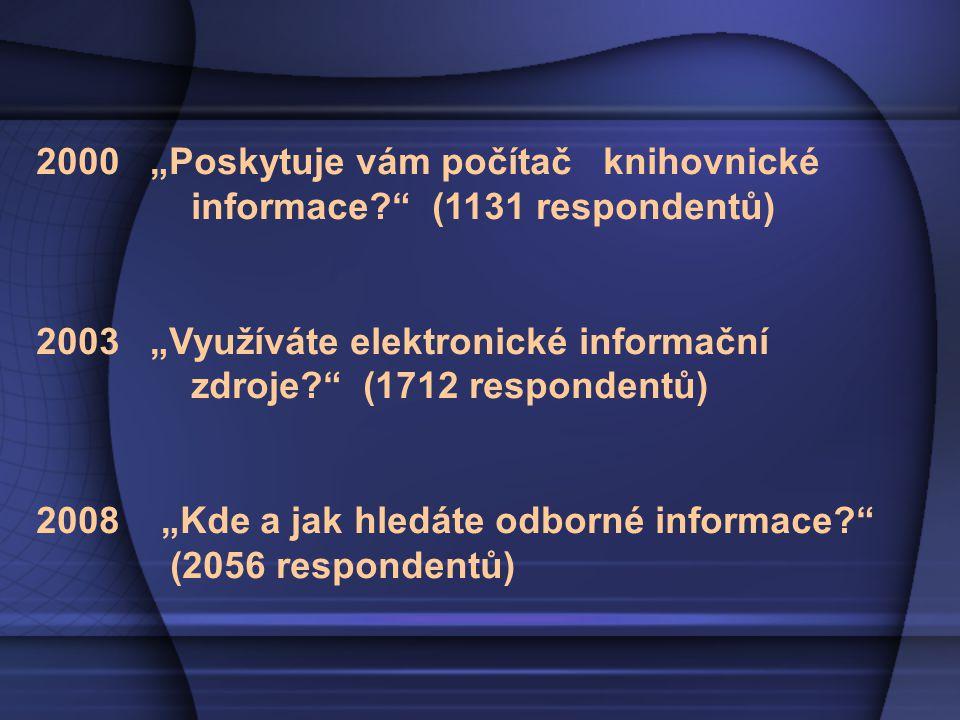 Využívání tištěných dokumentů (monografie, sborníky, skripta, právní dokumenty, výzkumné zprávy atd.)