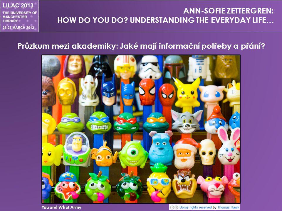 ANN-SOFIE ZETTERGREN: HOW DO YOU DO.