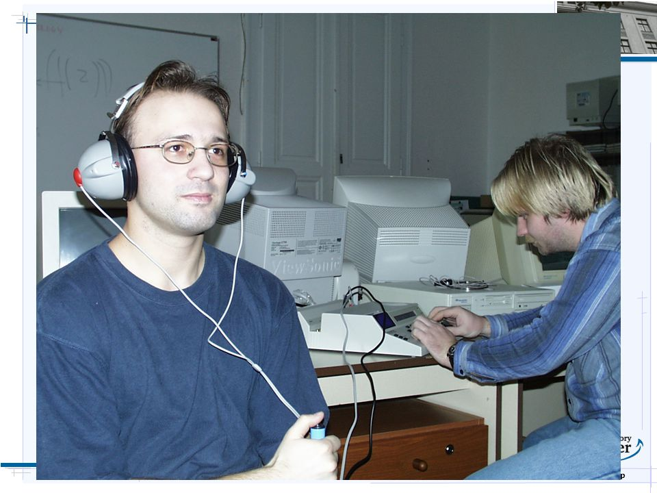 B i o c y b e r n e t i c s G r o u p  Biofeedback Účel systému ovlivňování autonomních nevědomých psychofyziologických procesů člověka sledování a měření vybraných fyziologických veličin vyhodnocení a zpracování naměřených dat signalizace psychofyziologického stavu vědomé zpětné ovlivňování fyziologických veličin Cíle ověřit stávající možnosti EEG biofeedbacku prozkoumat nové možnosti provést klinické testy vyvinout a uvést do výroby plnohodnotné levné zařízení rozšířit tuto metodu na co největší počet pracovišť rozšířit tuto metodu mezi samouživatele