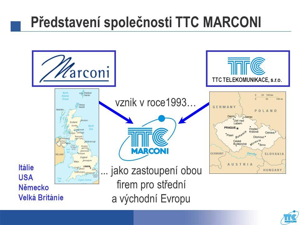Představení společnosti TTC MARCONI TTC TELEKOMUNIKACE, s.r.o.