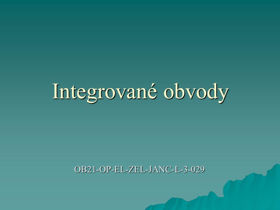 Integrované obvody OB21-OP-EL-ZEL-JANC-L-3-029