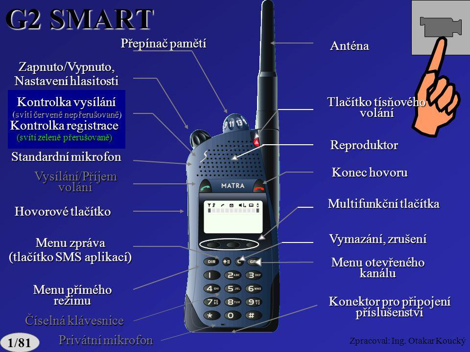 Zpracoval: Ing. Otakar Koucký ne max. výkon 1/77 Displej RA 1354L