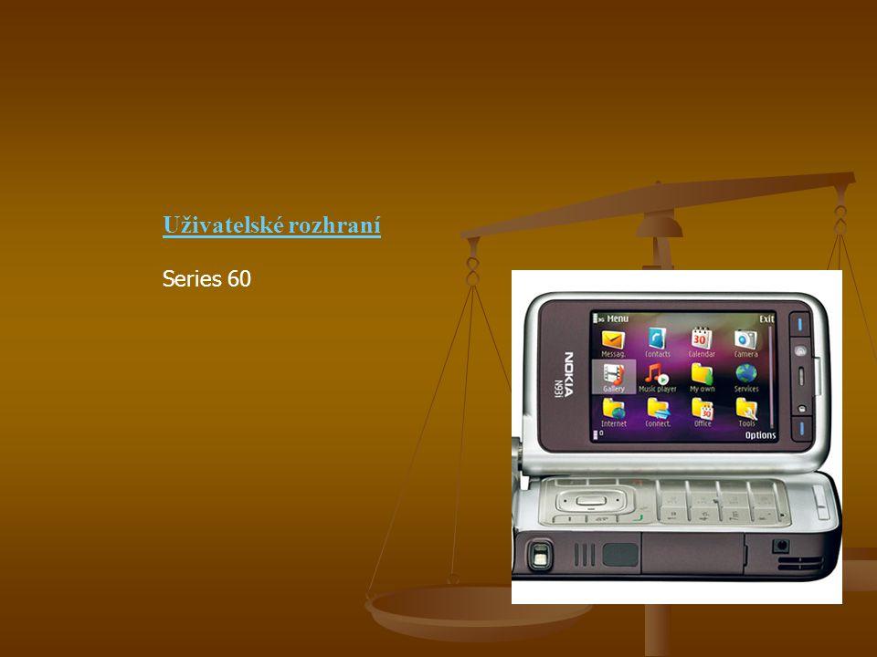 Uživatelské rozhraní Series 60