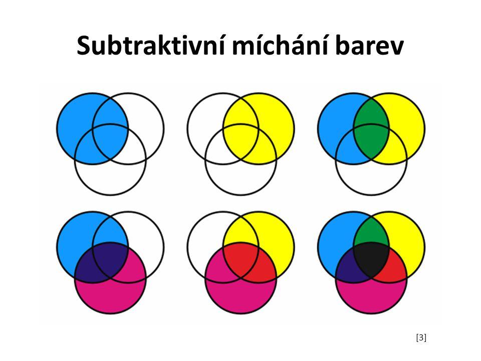 Subtraktivní míchání barev [3]