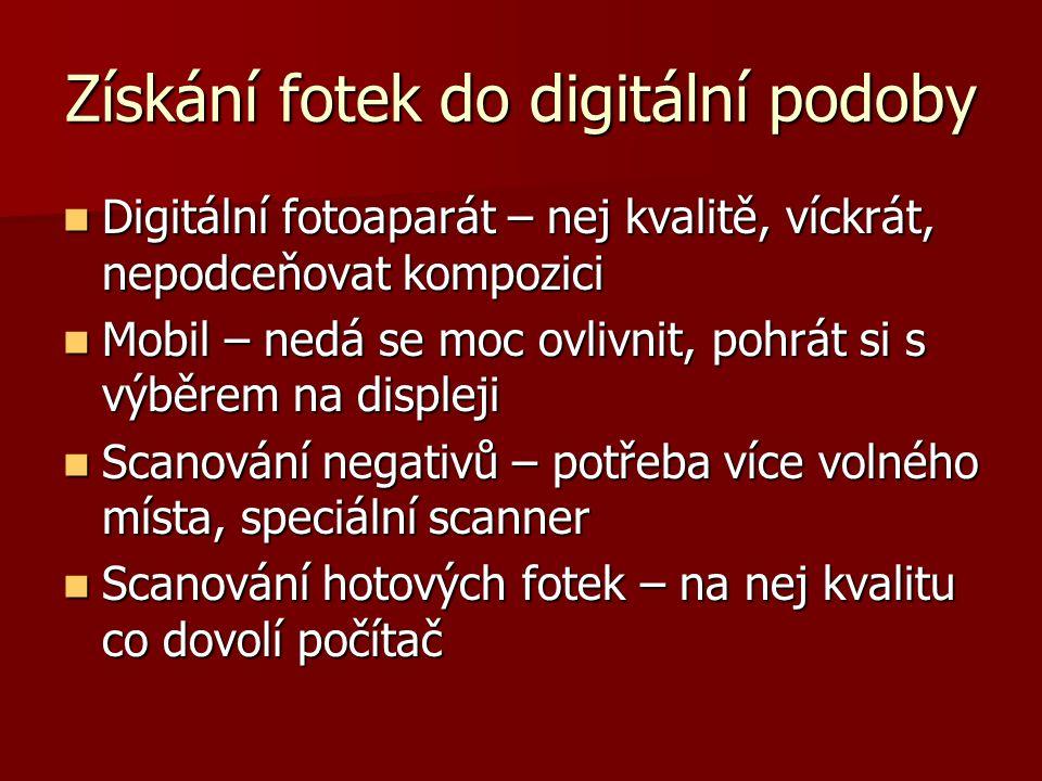 """Digitální fotografování Výběr digitálu, několik značek (canon, nikon, olympus, sony, minolta…) Výběr digitálu, několik značek (canon, nikon, olympus, sony, minolta…) Nefotím co mě napadne, ale """"vyhraji si s nastavením a možnostmi digitálu, kompozicí.."""