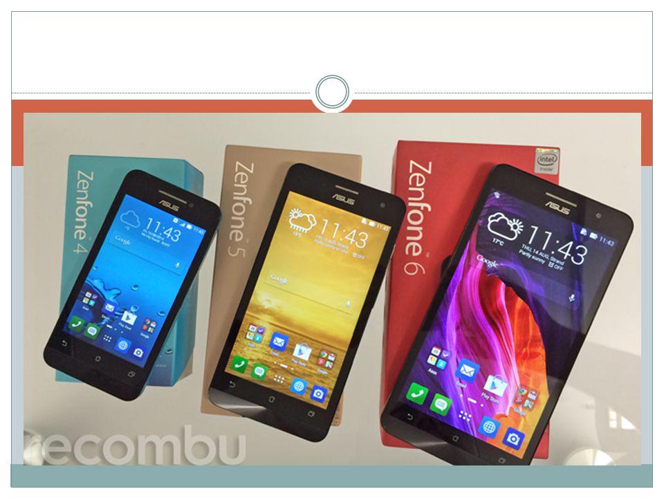 Zenfone 5 Zenfone 6 5 RAM: 2GB Baterie: 2110mAh Interní úložiště: 8GB (4 990 Kč) / 16GB (5 490 Kč) 6 RAM: 1GB / 2GB (dle interního úložiště) Baterie: 3 230mAh Interní úložiště: 8GB / 16GB Fotoaparát: 13Mpx