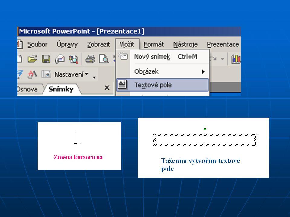 ► ► Kopírování textu z vnějších zdrojů ► ► Vnějším zdrojem zde může být například textový dokument nebo internetová stránka, ► ► může to být ale i tabulka Excelu nebo některé otevřené databáze.