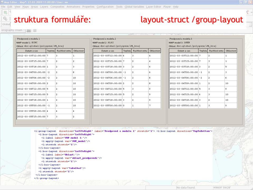 struktura formuláře: layout-struct/group-layout