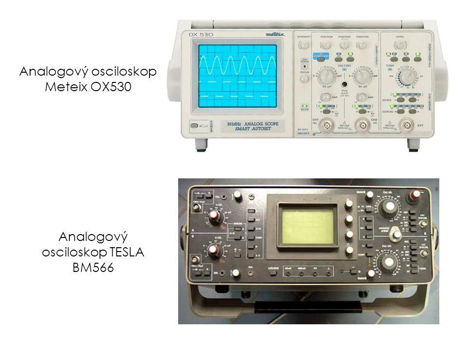 Analogový osciloskop Meteix OX530 Analogový osciloskop TESLA BM566