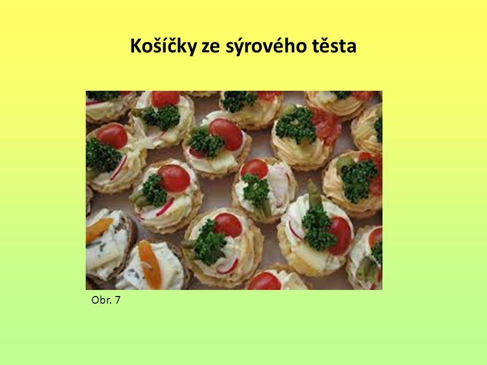 Košíčky ze sýrového těsta Obr. 7