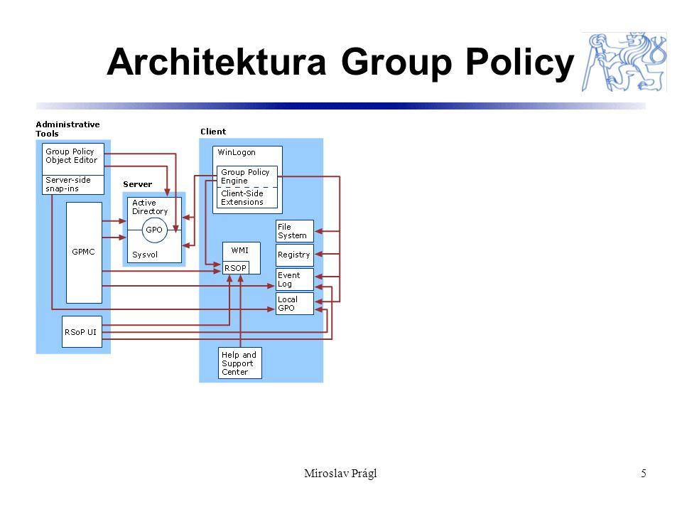 Miroslav Prágl16 Zdroje: Tato přednáška vychází ze zdrojů programu Windows ® Academic Program : http://www.microsoft.com/resources/sharedsource/licensing/windo wsacademic.mspx http://www.microsoft.com/resources/sharedsource/licensing/windo wsacademic.mspx Doporučené odkazy:  Writing Custom ADM Files for System Policy Editor: http://support.microsoft.com/kb/225087/en http://support.microsoft.com/kb/225087/en  Seznam nastavení GP s odpov´dajícími záznamy v registry: http://download.microsoft.com/download/a/a/3/aa32239c-3a23-46ef- ba8b-da786e167e5e/PolicySettings.xls http://download.microsoft.com/download/a/a/3/aa32239c-3a23-46ef- ba8b-da786e167e5e/PolicySettings.xls  GPMC: http://www.microsoft.com/windowsserver2003/gpmc/default.mspx http://www.microsoft.com/windowsserver2003/gpmc/default.mspx  http://www.microsoft.com/grouppolicy http://www.microsoft.com/grouppolicy  http://www.gpoguy.com http://www.gpoguy.com  news://list.vyvojar.cz/cz.vyvojar.list.win news://list.vyvojar.cz/cz.vyvojar.list.win