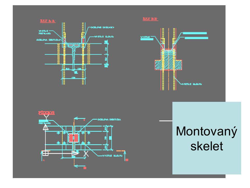 Montovaný skelet