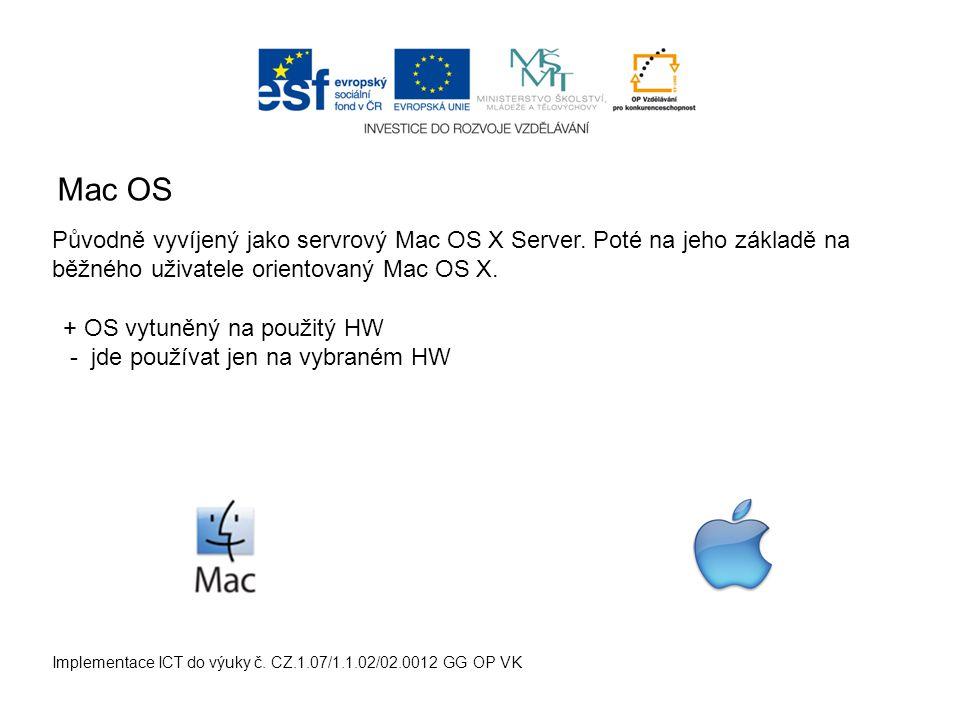 Linux Implementace ICT do výuky č.