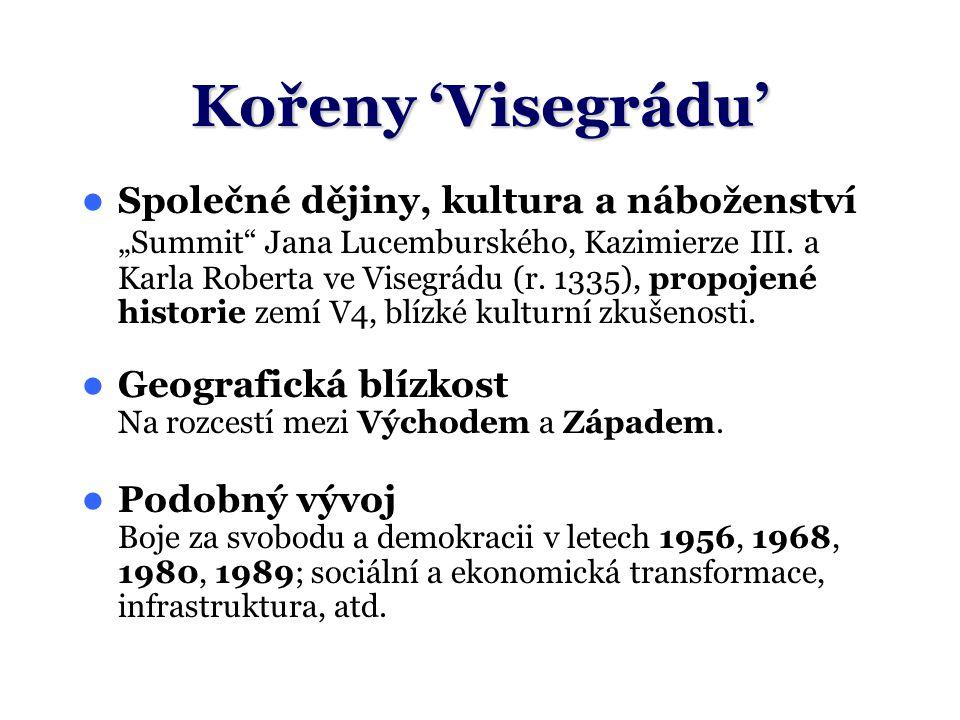 """Kořeny 'Visegrádu' Společné dějiny, kultura a náboženství """"Summit"""" Jana Lucemburského, Kazimierze III. a Karla Roberta ve Visegrádu (r. 1335), propoje"""